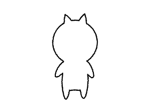 4コマ漫画「Who am I ?」の1コマ目