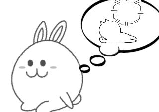 4コマ漫画「友達の輪」の1コマ目