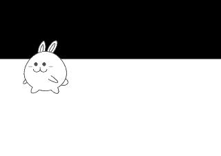 4コマ漫画「祝福」の1コマ目