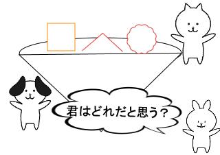 4コマ漫画「     ☆うどんじまん☆」の4コマ目