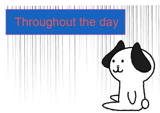 4コマ漫画「Everyday」の2コマ目