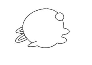 4コマ漫画「うおうお」の1コマ目
