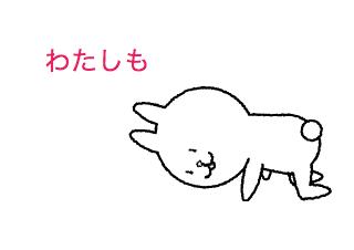 4コマ漫画「うんこ」の3コマ目