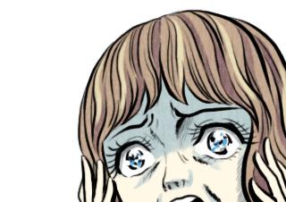4コマ漫画「報われぬ思い。」の3コマ目