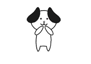 4コマ漫画「おはよう~」の1コマ目