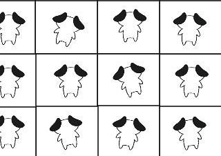 4コマ漫画「全滅」の1コマ目
