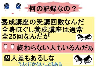 4コマ漫画「最高記録更新中!」の1コマ目