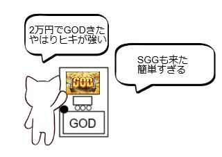 4コマ漫画「10日後に破綻するネコ~1日目~」の3コマ目