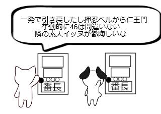 4コマ漫画「10日後に破綻するネコ~4日目~」の2コマ目