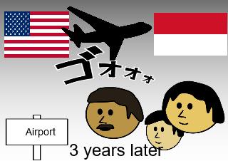 4コマ漫画「9/11 After Effect」の2コマ目