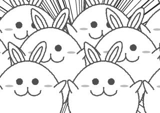 4コマ漫画「増殖」の3コマ目