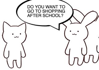 4コマ漫画「NEXT TIME」の1コマ目