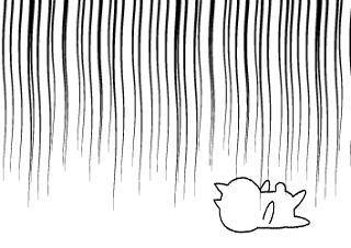 4コマ漫画「ネコ」の4コマ目