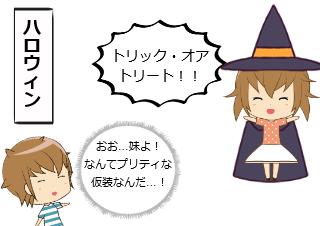 4コマ漫画「シスコン その4」の1コマ目