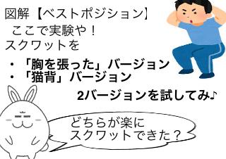 4コマ漫画「マンガでわかる「軸レッチ」⑨」の4コマ目