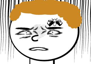 4コマ漫画「外見は当てにならない」の4コマ目