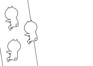 4コマ漫画「虫」の1コマ目