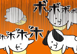 4コマ漫画「新年度と新入社員とお花見と」の4コマ目