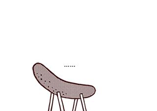 4コマ漫画「くそまんが」の3コマ目